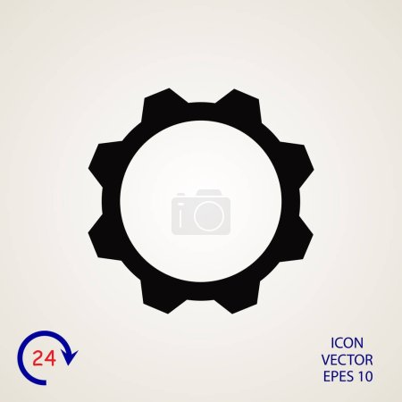 gear sign icon