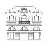 european house image