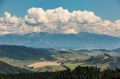 Tlsta Hora Mountain in the Cutkovska Dolina Valley near Ruzomberok