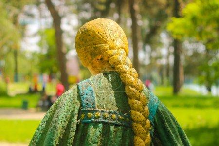 Estatua chica ucraniana