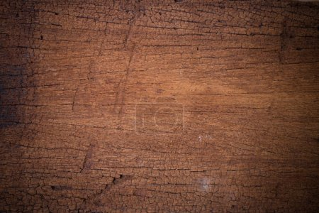 Photo for Brown wood plank wall texture. Abstract background, empty template use as natural background - Royalty Free Image