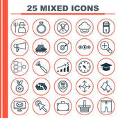Set Of 25 Universal Editable Icons Can Be Used For Web Mobile And App Design Includes Elements Such As Yacht Grower Locate And More