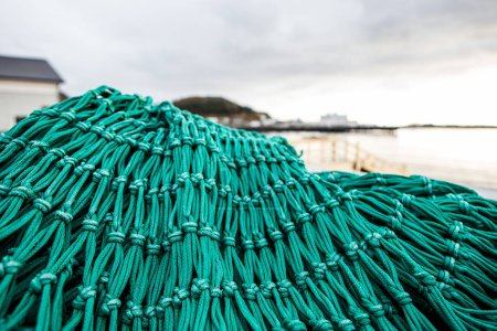 Fishing nets and stuff outdoor