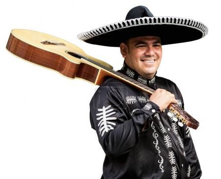 Mariachi with a guitar