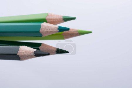 Color Pencils of various tones