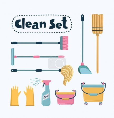Vector cleaning set
