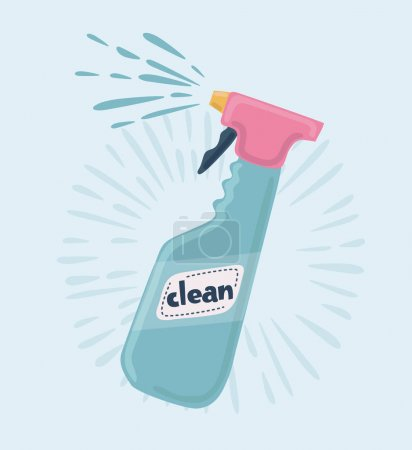 Cleaner spray icon