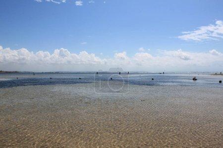 Beautiful coastline along the ocean. Indonesia, Bali.