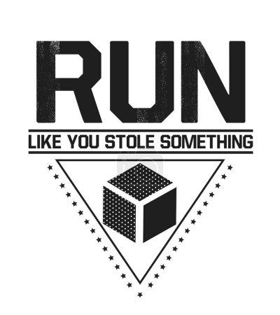 Running inspiration print