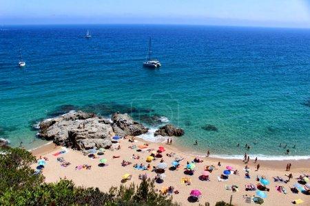 Cala Boadella full mediterranean beach