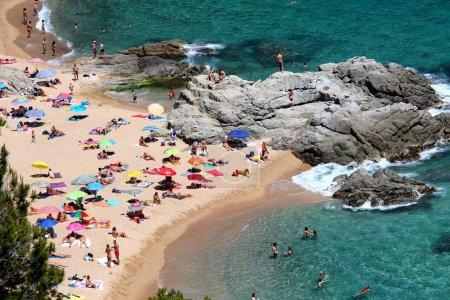 Costa Brava summer beach