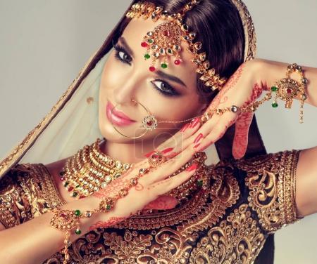 Portrait of beautiful indian gir