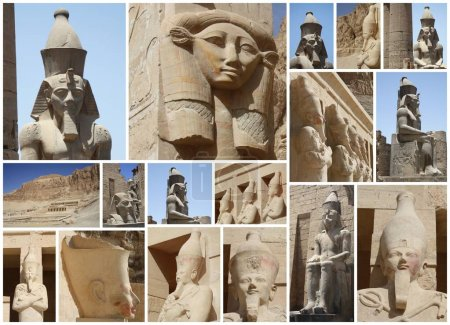 COLLECTION OF PHOTOGRAPHS OF EGYPT...