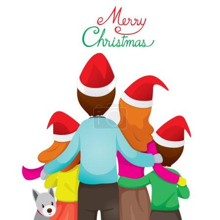 Photo pour Joyeux Noël, Noël, Amour, Relation, Célébrations, Vacances, Vacances - image libre de droit