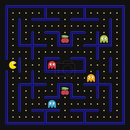 Arcade game concept.