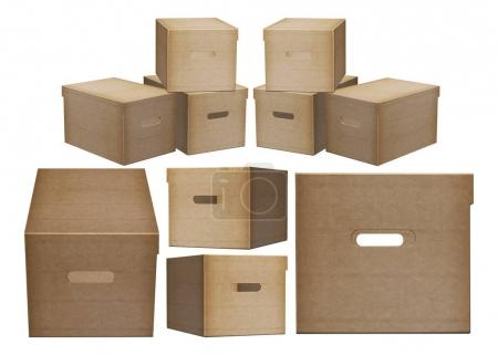 Photo for Carton paper set box - Royalty Free Image