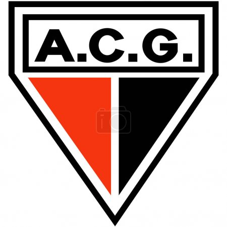 The emblem of the football