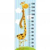 long neck giraffe height measure