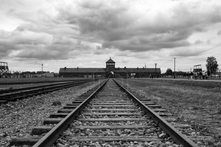 Concentration camp in Auschwitz...