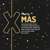 Veselé vánoční pozadí. Dovolená 2017