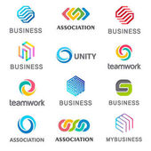 Collection of vector logos for your business