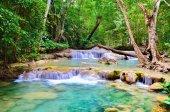 Arawan waterfall at Thailand