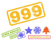 999 Rubber Stamp