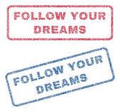 Follow Your Dreams Textile Stamps