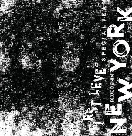 Illustration pour Slogan new york impression vectorielle.Pour t-shirt ou d'autres utilisations, graphiques T-shirt / graphique textile - image libre de droit