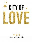 City of love slogan vector printFor t-shirt or other usesT-shirt graphics / textile graphic