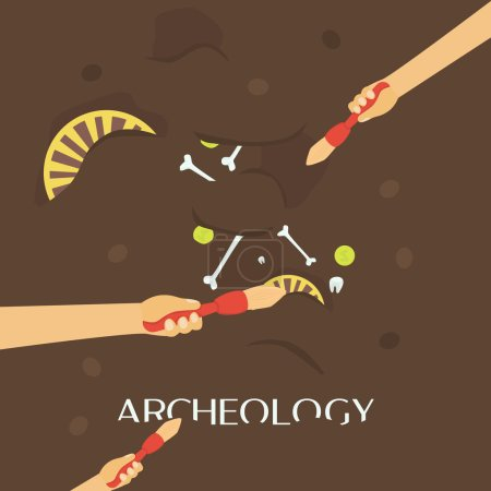 Archeology science banner