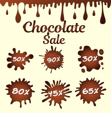 chocolate sale icons