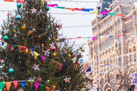 Christmas City Fair in Moscow