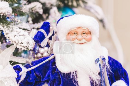 Toy figure of Santa Claus