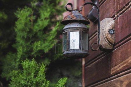 Beautiful old vintage metal lantern