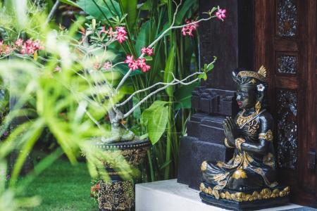 statuette of Hindu in Bali