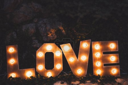 Word love letters