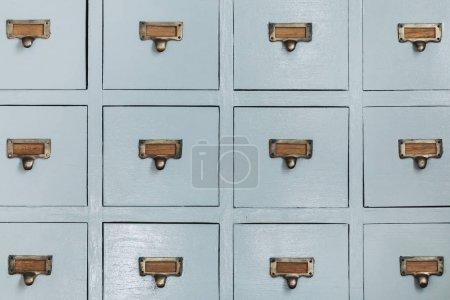 Wooden vintage cupboard