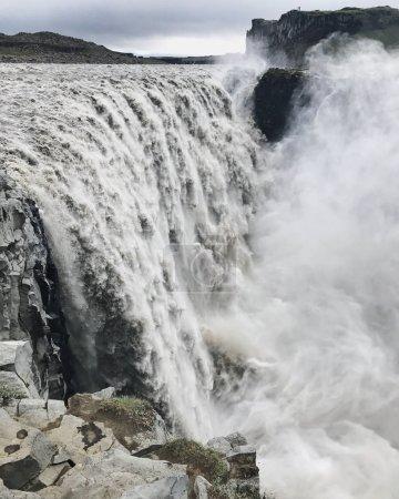 Detifoss waterfall in Iceland