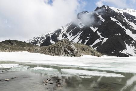 Lake Syltrankel in Elbrus region