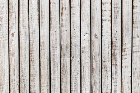 Photo for Old scratched shabby wooden planks - Royalty Free Image