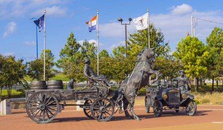 Cyrus Avery Centennial Plaza in