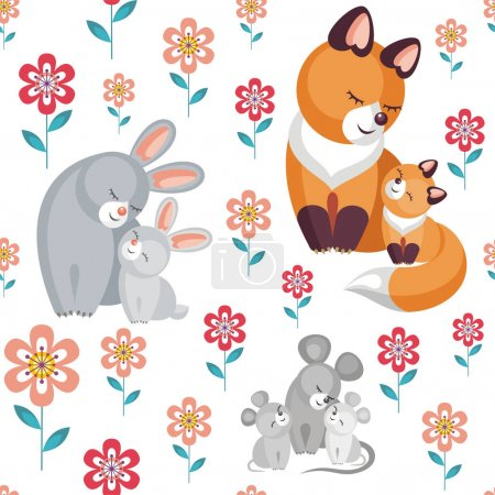 mouses, foxes and rabbits