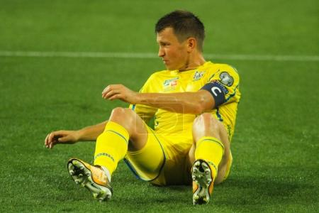 Ukrainian footballer Ruslan Rotan