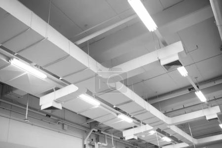 Air Duct, Danger and the cause of pneumonia in office man.