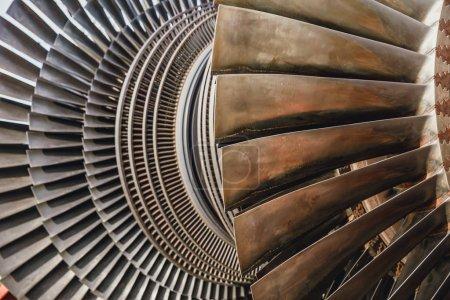steam turbine metal blade use