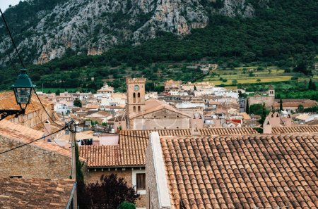 View of the Pollensa from Calvary, Mallorca, Spain