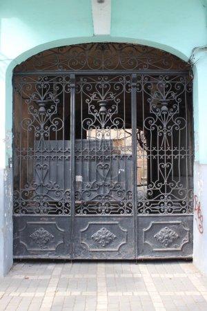 Vintage metal gates