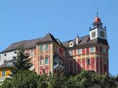 Jánský vrch hrad ve městě Javorník