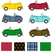 Car Illustration Car Clip Art Colorful Repeating Patterns Vector Patterns Background Patterns